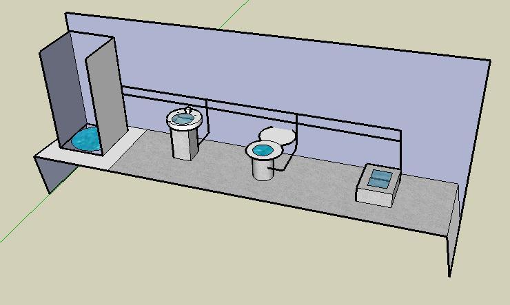 Diagrama Instalacion De Regadera De Baño:Instalacion De Bano